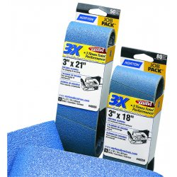 Norton - 07660749262 - Portable Belts 3 X 21 (pkg/5) 120 Grit