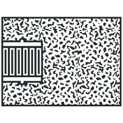 Norton - 61463622219 - 2x3x5/8-11gemini 57a24-rtype 18 Plug Square Tip