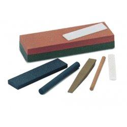 "Norton - 61463686395 - Norton 1/2"" X 4"" Fine Grit India FF344 Aluminum Oxide Half Round Abrasive File Sharpening Stone"