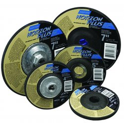 Norton - 66252938855 - Norton Abrasives 66252938855 NorZon Plus Type 27 Depressed C...