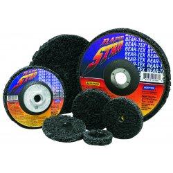 "Norton - 66261009650 - Norton 7"" X 5/8"" - 11 36 - 50 Grit Extra Coarse Grade Silicon Carbide Bear-Tex Rapid Strip Type 27 Depressed Center Non-Woven Abrasive Disc"