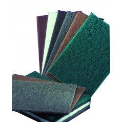 Norton - 66261074600 - 6x9 S/c Med Gry Metal Blending Pad 20/bx