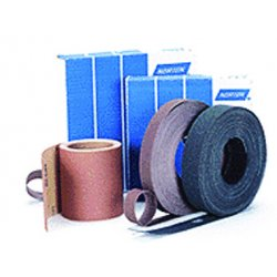 "Norton - 66261127730 - Norton 50 Yard X 1 1/2"" P50X Grit K224 K225 Metalite Aluminum Oxide Coarse Grade Resin Bond Cloth Roll"
