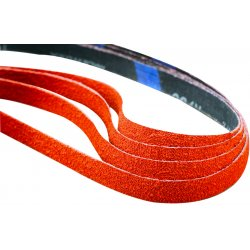 "Norton - 69957398028 - Norton SG Blaze R980P PG S-Flex 3/4"" X 18"" 60 Grit Coarse Grade Y-Weight Ceramic Alumina Closed Coat Resin Bonded Sanding File Belt"