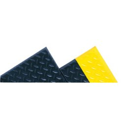 Notrax - 419S0026BL - Antifatigue Mat, Vinyl, 6 ft. x 2 ft., 1 EA