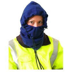 Occunomix - 1070-01 - Hard Hat Winter Liner Navy Blue Fire Resistant Polyester Occunomix, Ea