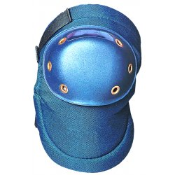 Occunomix - 125 - OccuNomix Blue Value EVA Foam Knee Pad With Hook And Loop Closure And PE Plastic Hard Cap, ( Pair )