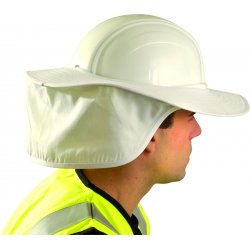 Occunomix - 898-008 - OccuNomix White Polyester/Cotton Neck Protector, ( Each )
