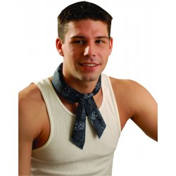 Occunomix - 940-CBL - Cooling Bandana, Cotton, Cowboy Blue, Universal
