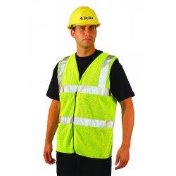 Occunomix - LUX-SSCOOLG-O3X - OccuNomix 3X Hi-Viz Orange 100% ANSI Polyester/Mesh Vest, ( Each )