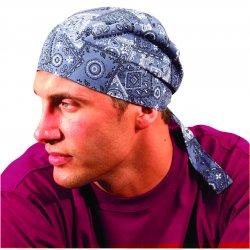Occunomix - TN6-01 - Dlx Tie Hat W/elastic Rear Band One Sz Fits All