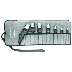 C.S. Osborne - K-16 - 7pc. Arch Punch Set W/tool Roll 3/16 5/16 7