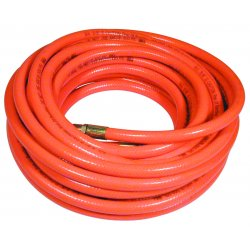 "Plews / Edelman - 576-50A - 3/8""x50' Day Glo Orng Pvc Air Hose 300 Psi"