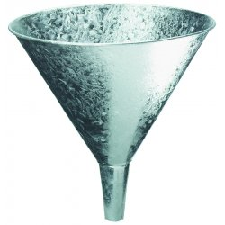 Plews / Edelman - 75-017 - 4 Qt. Galvanized Funnel