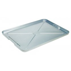 "Plews / Edelman - 75-755 - 16""x25"" Galvanized Drippan Pan"