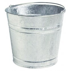 Plews / Edelman - 75-825 - 12qt Galvanized Water Pail