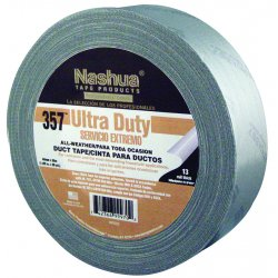 "Nashua Tape - 573-3570020000 - 357-2-sil 2""x60yds Silver Premium Duct Tape"