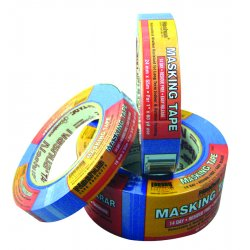 Nashua Tape - 1088313 - Nashua 2' X 60 yd Blue 140B Crepe Paper Multi-Surface Painters Masking Tape