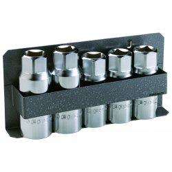 Facom - FA-287B.JS5 - Stud Driver/Extractor Set, 5 Pc, 1/2 Dr