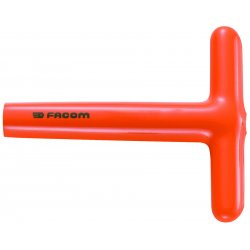 "Facom - FM-94T.12AVSE - 5-3/4"" Steel Nut Driver, Orange"