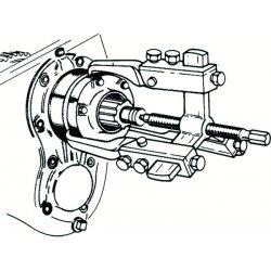 Proto - 4233E - Puller Set 10 Ton 3-way