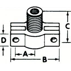 Proto - 4250B - Puller Yoke 2 Way Acme T