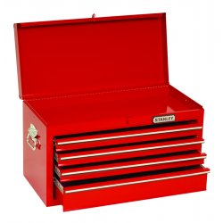 "Proto - 442715-4RD-D - Red Drop Front Chest 27x15"" 4 Drawer"