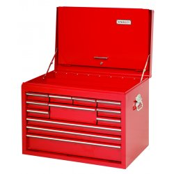 "Proto - 442719-12RD-D - Red Drop Front Chest 27x19"" 12 Drawer"