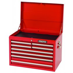 Proto - 442719-8RD - Red 8 Drawer Chest 27x19""