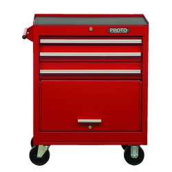 Proto - 442735-3RD - Red 3 Drawer Roller Cabinet 27x35""