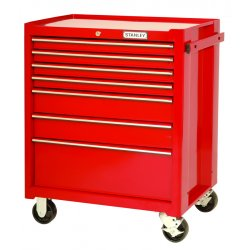 Proto - 442735-7RD - Red 7 Drawer Roller Cabinet 27x35""