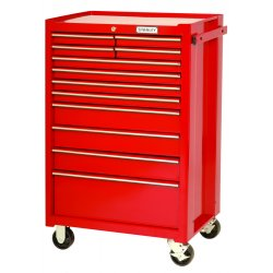 Proto - 442742-12RD - Red 12 Drawer Roller Cabinet 27x42""