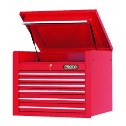 """Proto - 453427-6RD - Red 6 Drawer Chest 34x27"""""""