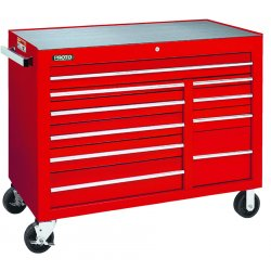 Proto - 455041-10RD - Red 10 Drawer Workstation 50x41""