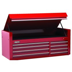 "Proto - 456627-8RD - 66"" Chest 8 Drws Red"