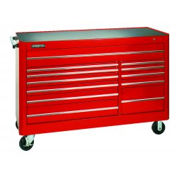 Proto - 456646-12RD - Red 12 Drawer Workstation 66x46""