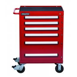 Proto - 463042-6RD - 460 Series Roller Cabinet 6 Drawer Red