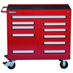 Proto - 464542-10RD - 460 Series Workstation 10 Drawer Red