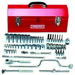Proto - 52140 - Set Skt 3/8 Dr 57 Pc 12point Socket W/9977 Box