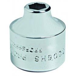 """Proto - 5214HS - 7/16"""" 3/8"""" Drive 6 Pt Super Socket"""