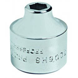 """Proto - 5222HS - 11/16"""" 3/8"""" Drive 6 Pt Super Short Socket"""