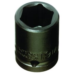 Proto - 7419M - Skt Imp 1/2 Dr 19mm 6 Pt