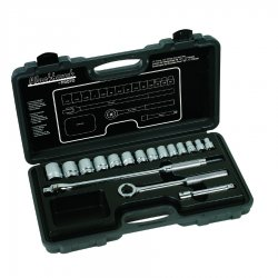 "Blackhawk / Stanley - 1218-S - 17 Piece Socket Set 1/2""drive"