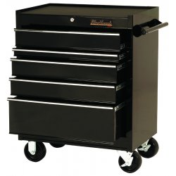"Blackhawk / Stanley - 92705R - Cabinet 27"" 5 Drawer Blk"