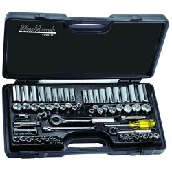 Blackhawk / Stanley - 9765 - 65 Piece Socket Set 1/4&3/8 Drive
