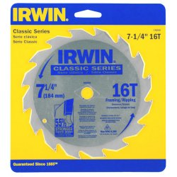 "IRWIN Industrial Tool - 15150 - IRWIN Classic Saw Blade - x 8.25"" Diameter - Straight Style - Corrosion Resistant, Rust Resistant, Carbide-tipped - 1 Each"
