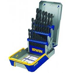 IRWIN Industrial Tool - 3018004 - 29 Piece Drill Bit Industrial Set Case Blk Oxide