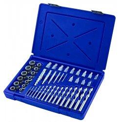 IRWIN Industrial Tool - 3101010 - Extractor/Drill Set, HSS, Cobalt, 48 Pcs