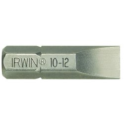 IRWIN Industrial Tool - 3511112C - 6-8 Slotted Insert Bit 1in Oal 2 Pc.