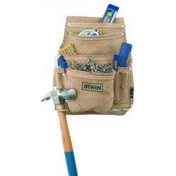 IRWIN Industrial Tool - 4031012 - 10 Pocket Suede Journemans Pouch
